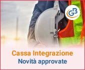 Cassa Integrazione: quali novità sono state approvate?