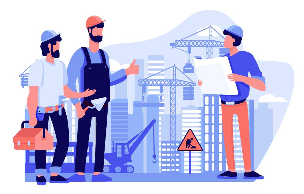 Buste paga per il settore edilizia