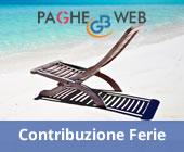 Paghe GB Web - Ferie 2015: godimento oppure obbligo contributivo