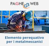 Paghe GB Web - Elemento perequativo per i metalmeccanici