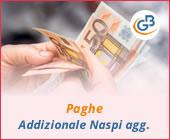 Paghe 2019: gestione Addizionale Naspi aggiuntiva