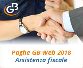 Paghe GB Web 2018: Assistenza fiscale