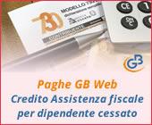 Paghe 2019: Credito Assistenza fiscale per dipendente cessato