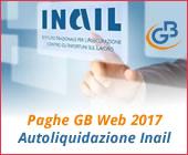 Paghe GB Web Autoliquidazione Inail