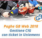 Paghe GB Web 2018: gestione CIG con ticket in Uniemens