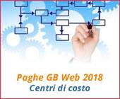 Paghe GB Web 2018: Centri di costo