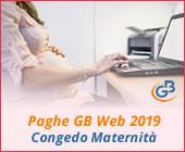 Paghe GB Web 2019: Congedo Maternità
