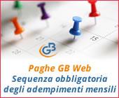 Paghe GB Web 2018: Sequenza obbligatoria degli adempimenti mensili