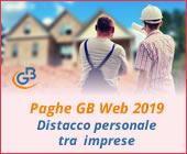 Paghe GB Web 2019: Distacco di personale tra le imprese