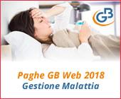 Paghe GB Web 2018: Gestione Malattia
