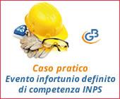 Caso Pratico: Evento infortunio definito di competenza INPS