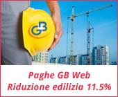 Paghe GB Web 2017: riduzione edilizia 11.5%