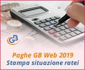 Paghe GB Web 2018: Stampa situazione ratei
