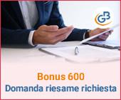 Bonus 600: chi può presentare domanda del riesame di richiesta?