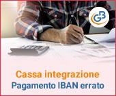 Cassa Integrazione: come avviene il pagamento in caso di IBAN errato?