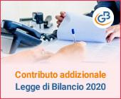 Contributo addizionale: come cambia nella Legge di Bilancio 2020