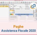 Paghe GB Web: Assistenza fiscale 2020
