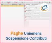 Paghe GB Web: Caso pratico – Uniemens Sospensione Contributi