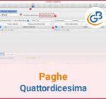 Paghe GB Web: gestione della Quattordicesima 2020