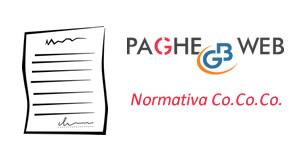 Gestione Normativa Co.Co.Co. nel software Paghe GB Web