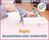 Paghe GB Web 2019: assunzione per sostituzione maternità
