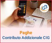 Paghe: Contributo Addizionale CIG