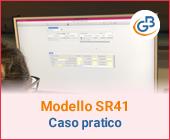 Paghe: Modello SR41 plurimensile – Caso pratico